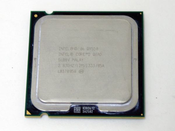 インテル Core2 Quad Q9550/2.83GHz