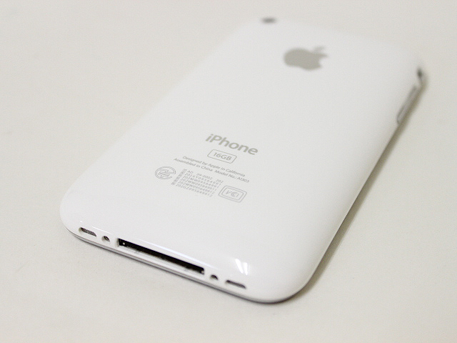 iPhone 3GS/16GB/ホワイト