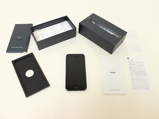 iPhone 5 16GB Black SoftBank