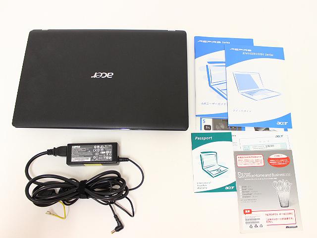 Acer Aspire 5741Corei3 Win7 ノートパソコン買取
